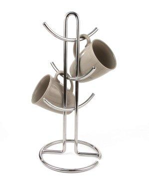 $10.77Spectrum Diversified 不锈钢大号杯子架 可收纳6个马克杯