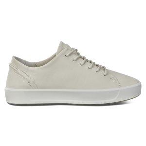 ECCO女士小白鞋