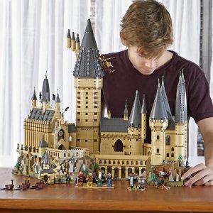 低至5折 £108收大礼堂与密室哈利波特周边 乐高、手办、家居、服饰 复刻魔法世界