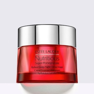 送含红石榴3件套的最高9件好礼限今天:Estee Lauder 全场美妆护肤品热卖 收小棕瓶 红石榴系列