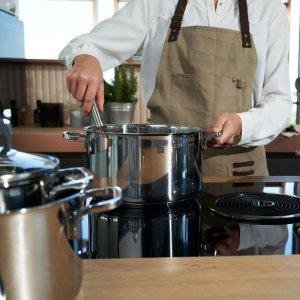 Zwilling烤,炒,煮皆可不锈钢锅具5件