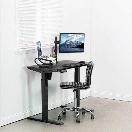 电动可调节电脑桌