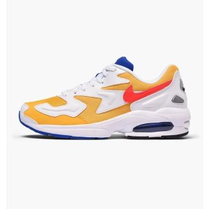 NikeAir Max2 Light 黄白拼色