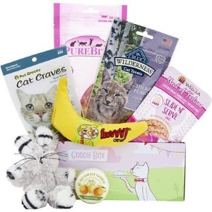 Goody Box Garden Paw-ty for Cats