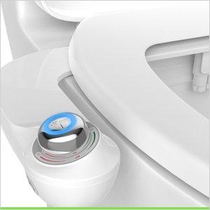 $16史低价:Bio Bidet SlimGlow 双喷头简易无电式马桶清洗器