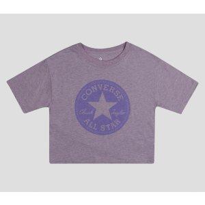 Converse紫色短袖