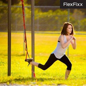 $18.91 (原价$26.99)FlexFixx 健身瑜伽带特价   在家也能轻松锻炼