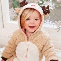 JoJo Maman Bebe 婴幼童驯鹿造型连身衣