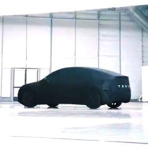 比Model 3更大的SUVTesla 动作频繁 Model Y 今日发布