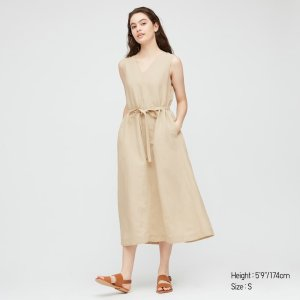 Uniqlo系带连衣裙