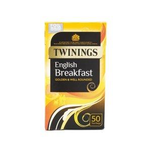 Twinings英式早餐茶 50包