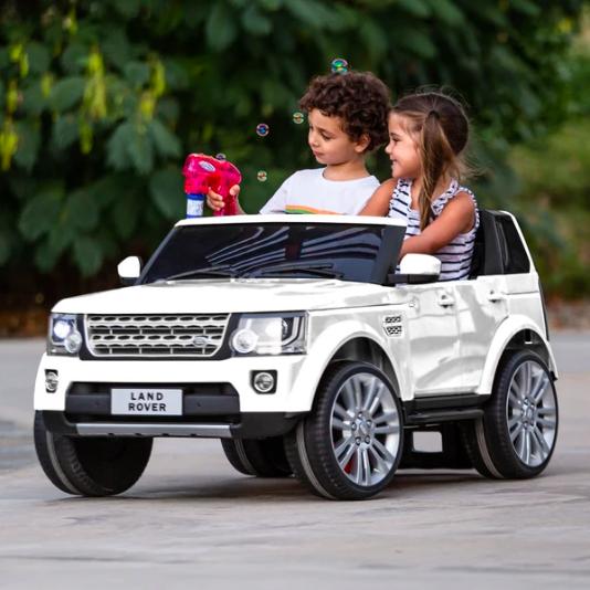 路虎Land Rover 跑车完美复刻儿童电动车,多色选