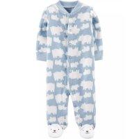 Carter's 婴儿北极熊抓绒连体衣