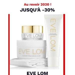 直接7折 €13收润唇膏EVE LOM 终于登陆LF 年终大促 超低价收卸妆膏