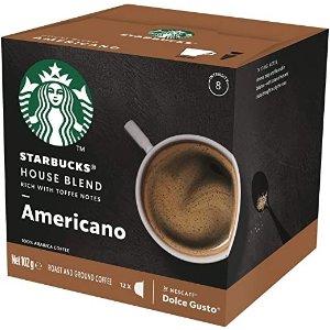 订阅9折Starbucks 咖啡胶囊 102g (12 Serves)