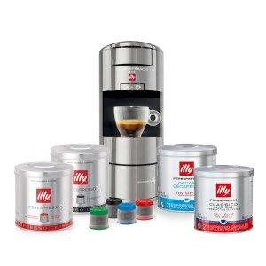 IllyX9 咖啡机 + Espresso 咖啡胶囊 体验套装