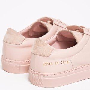 低至4.5折 免邮Common Projects 极简风休闲鞋热卖