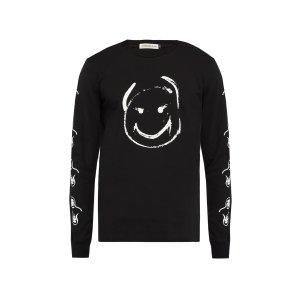 UndercoverSmiley face cotton sweatshirt