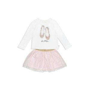 f380aa79 Kate Spade Girls' Striped Satin Carolyn Dress - Little Kid. Kate SpadeBuy  more save moreGirls' Dance Till Dawn Glitter Tee & Tutu Skirt Set -