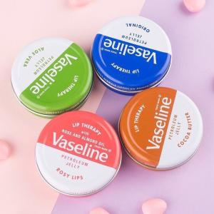 便宜大碗 无限回购 仅€2.83Vaseline 芦荟味唇部护理好价 温和清爽抗敏感