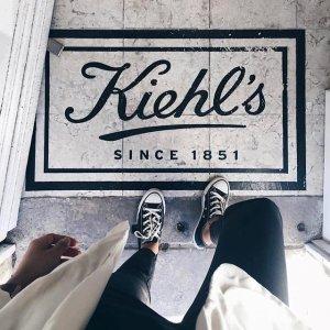 满$125送8件套好礼 (价值$37)Kiehl's 全场护肤热卖 收淡斑精华