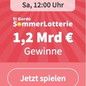 新用户仅€1 中了就是亿万富翁啦限今天:一年仅一次 SommerLotterie总奖金高达12亿欧 每3张就能中1张