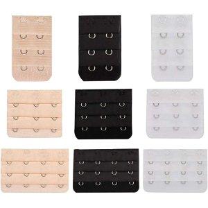 $8.97(原价$19.97)QQA 文胸延长扣9件套 多款组合 拯救不合身内衣