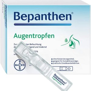 20支仅€8.92 长期用眼必备拜耳制药 Bepanthen 滴眼液热卖 保护眼睛缓解疲劳