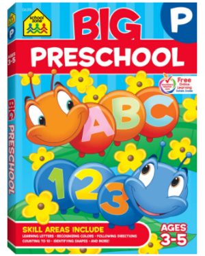 $7.49 Big Preschool Workbook