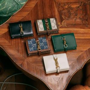 好看不贵  €375收1955马鞍钱包Gucci 精致小物好价收 收卡包、腰带、三合一链条包等老花超值好物