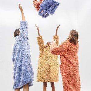 2折起 $67收羊羔毛夹克最后一天:ssense 女士冬季外套再降 收封面多色泰迪大衣