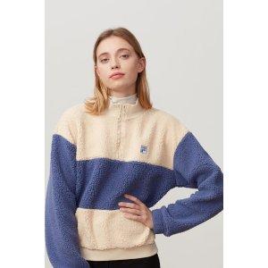 Filalaverne 1/4 zip sweatshirt