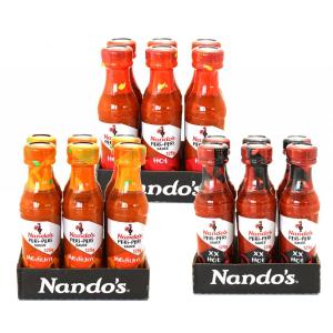 德国小吃货:英国 知名 Nando's 餐厅招牌烤鸡蘸料 辣椒酱  18瓶   宅家也有好吃的