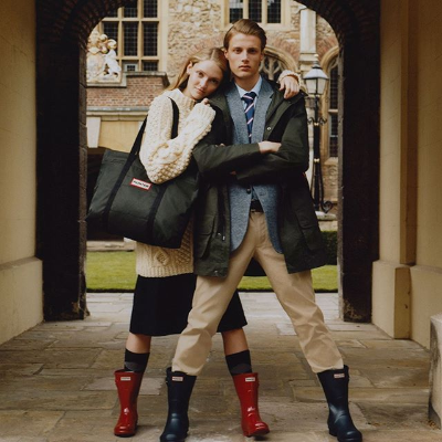 7.5折 €65收女士短款雨靴Hunter 英国皇室专用雨靴热卖 雨季必备的时尚单品