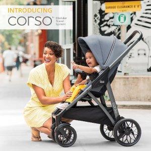立省$100Chicco官网Corso新款婴儿推车旅行系统特卖
