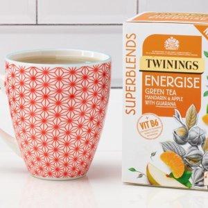 一律£2/盒(内含20包)Twinings 混合风味茶专区热卖 十余种风味一次收齐