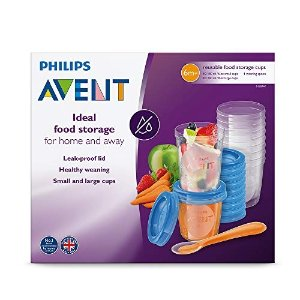 Philips Avent宝宝食物存储杯