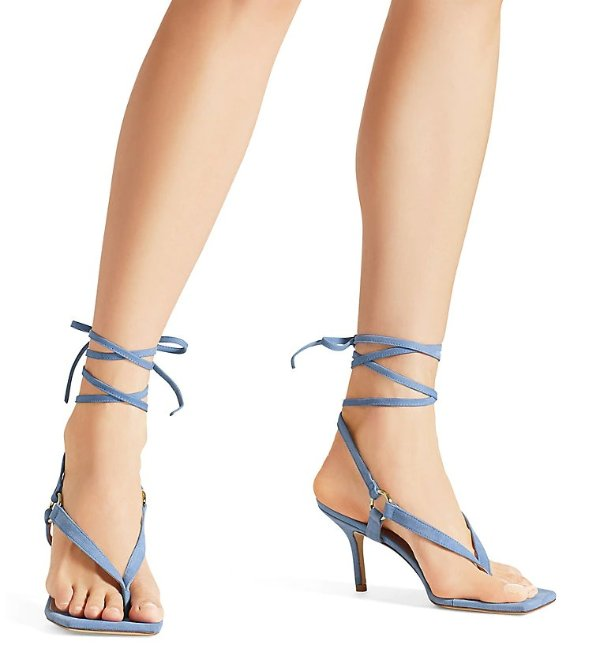 LALITA 75 绑带凉鞋