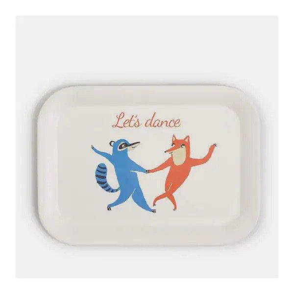 狐狸和黄鼠狼餐盘