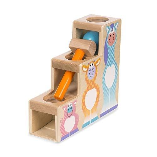 木质3件套敲球球玩具