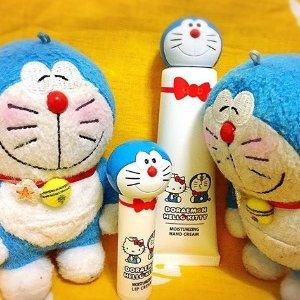 $7 / RMB48.4起 直邮美国哆啦A梦 & hello kitty 合作款 唇膏&护手霜 限量发售