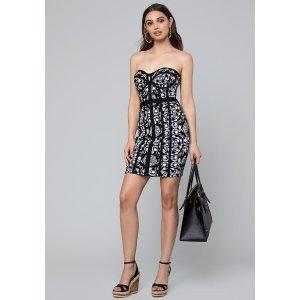 d6ee4fd8c97 Bebe Minerva Tie Bandage Dress.  77.99  139.00