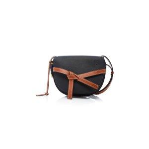 LoeweGate Small Leather Shoulder Bag