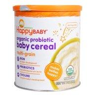 happy baby 有机麦片泥含益生菌,7盎司