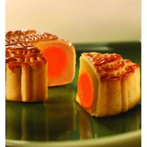 购满$100再折15% ($35.37/盒)荣华双黄伍仁月饼, 4枚