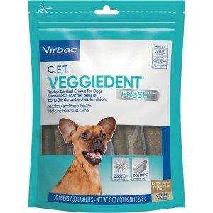 VirbacVOHC授权产品小型犬洁牙棒 30个