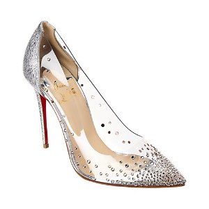 cc96131db40 Christian Louboutin Follies Spiked Suede Flat · Christian  LouboutinDegrastrass 100 Leather Pump