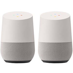Google Home 2个 + Google Nest Mini 智能音箱
