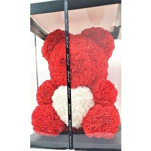 40 cm玫瑰泰迪熊 含包装