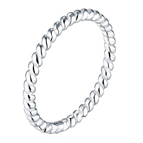 As low as $5.99BORUO 925 Sterling Silver Ring
